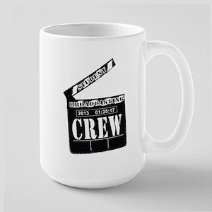 Broadcasting swag Large Mug