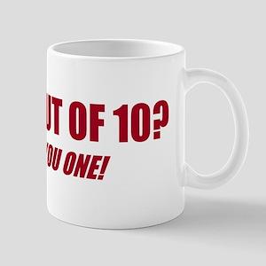 Marks Out Of 10? Mug