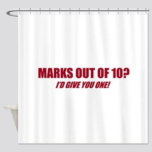 Marks Out Of 10? Shower Curtain