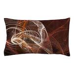 Radiant Heat Fractal Pillow Case