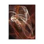Radiant Heat Fractal Twin Duvet Cover