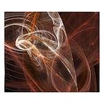 Radiant Heat Fractal King Duvet Cover
