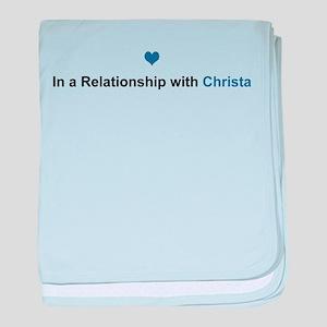 Christa Relationship baby blanket