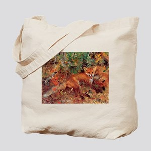 Painting of a Fox Tote Bag