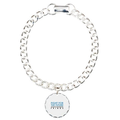 Fight for the future Fringe Charm Bracelet, One Ch