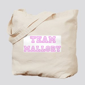 Pink team Mallory Tote Bag