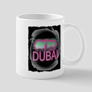 dubai art illustration Mug