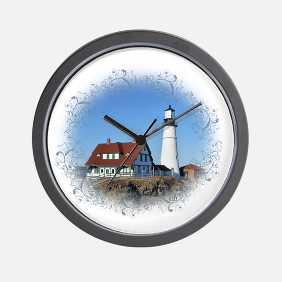 Funny Lighthouse Wall Clock