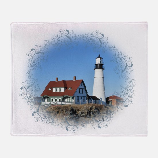 Cool Lighthouse Throw Blanket
