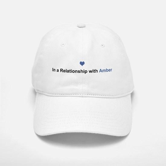 Amber Relationship Baseball Baseball Cap