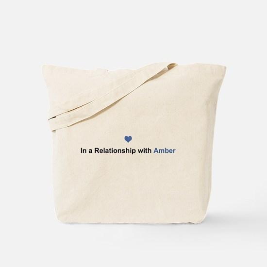 Amber Relationship Tote Bag