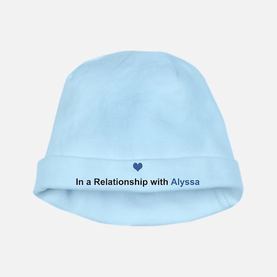 Alyssa Relationship baby hat