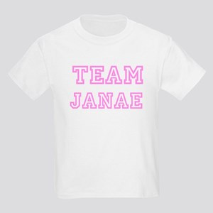 Pink team Janae Kids T-Shirt