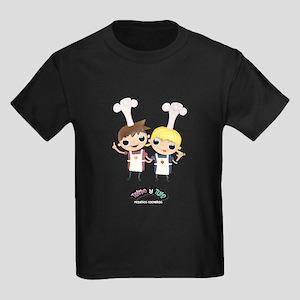Telmo y Tula Camiseta Oscura Jr