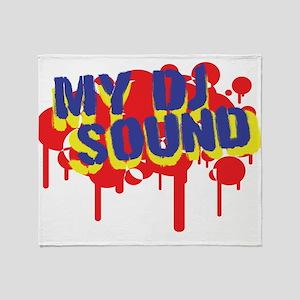 My DJ Sound Throw Blanket