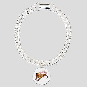 Bearded Dragon III Charm Bracelet, One Charm
