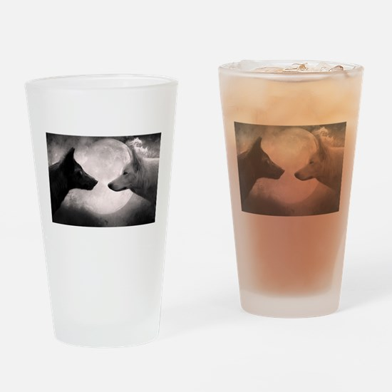 Best selling wolf Drinking Glass