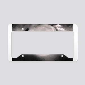 Best selling wolf License Plate Holder
