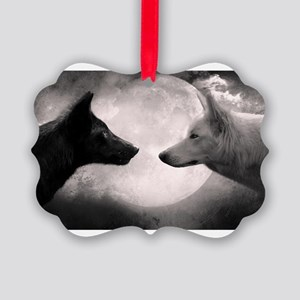 Best selling wolf Picture Ornament