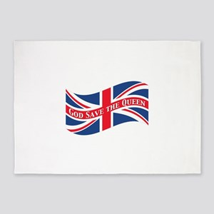 God Save the Queen 5'x7'Area Rug