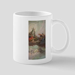 Fresque de la Galerie des Candelabres Vatican Mug