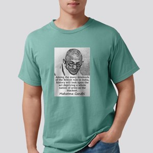 Among The Many Misdeeds - Mahatma Gandhi Mens Comf