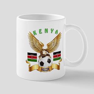 Kenya Football Design Mug