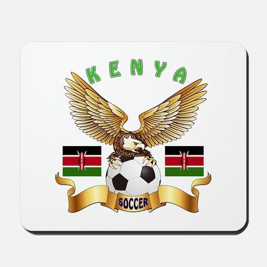 Kenya Football Design Mousepad