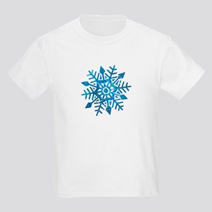 Serene Snowflake Kids Light T-Shirt