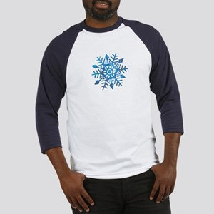 Serene Snowflake Baseball Jersey