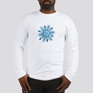 Serene Snowflake Long Sleeve T-Shirt