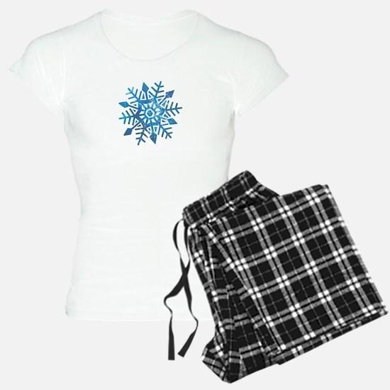 Serene Snowflake Pajamas
