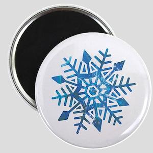 Serene Snowflake Magnet
