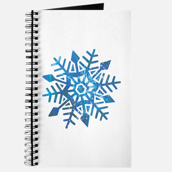 Serene Snowflake Journal