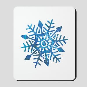 Serene Snowflake Mousepad