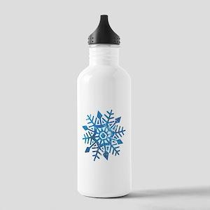 Serene Snowflake Stainless Water Bottle 1.0L