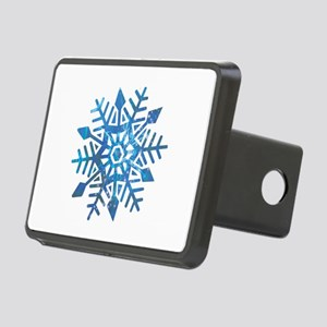 Serene Snowflake Rectangular Hitch Cover