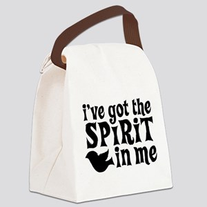 Spirit in Me Canvas Lunch Bag