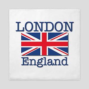 London England Queen Duvet