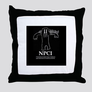 NPCI Logo Throw Pillow