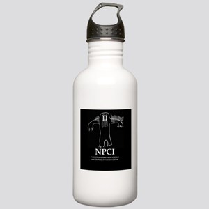 NPCI Logo Stainless Water Bottle 1.0L