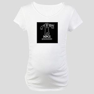 NPCI Logo Maternity T-Shirt