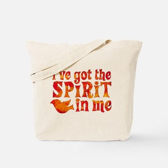 Spirit in Me Tote Bag