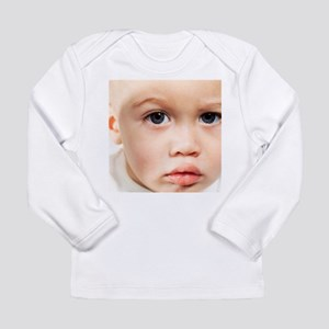 Baby's face - Long Sleeve Infant T-Shirt