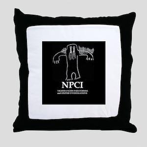 NPCI Throw Pillow