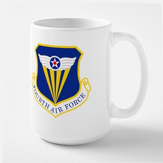 4th Air Force<BR> Lieutenant Colonel Mug