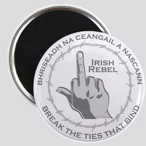 Irish Rebel Gear Middle Finger Magnet