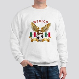 Mexico Football Design Sweatshirt