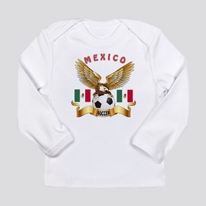 Mexico Football Design Long Sleeve Infant T-Shirt