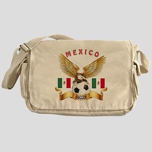 Mexico Football Design Messenger Bag